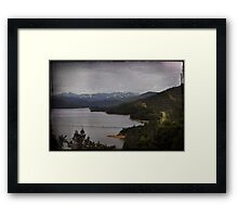 The Scenic Route Framed Print