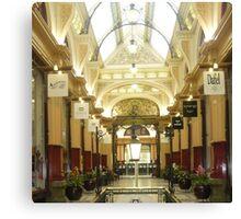 City Arcade in Melbourne Canvas Print
