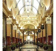 City Arcade in Melbourne Photographic Print