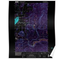 USGS Topo Map Washington State WA Enumclaw 241078 1997 24000 Inverted Poster