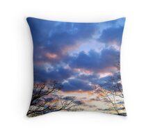 Winter Sky 2 Throw Pillow