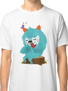 FLUFF AND THE BIRDS Classic T-Shirt
