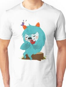 FLUFF AND THE BIRDS Unisex T-Shirt