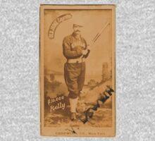 Benjamin K Edwards Collection King Kelly Chicago White Stockings baseball card portrait 001 Kids Tee