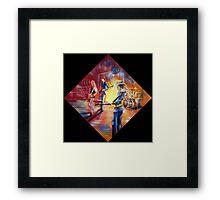 Tamworth CMF Stone Crazy Framed Print