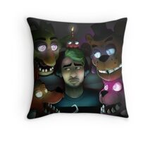 FNAF: Jacksepticeye's Turn Throw Pillow