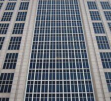Boston - glass and concrete to the sky by corrado