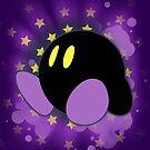 Super Smash Bros. Purple Kirby Silhouette by jewlecho