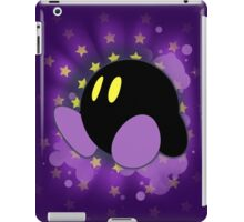 Super Smash Bros. Purple Kirby Silhouette iPad Case/Skin