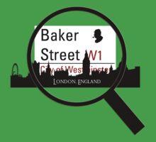 Baker Street Magnifier  Baby Tee