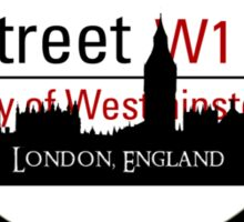 Baker Street Magnifier  Sticker
