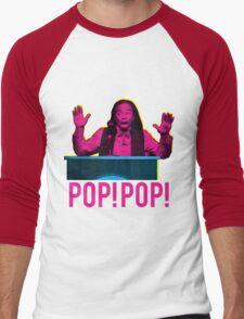 POP! POP! Men's Baseball ¾ T-Shirt
