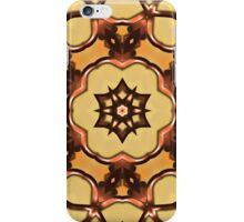 kaleidoscopic picture of something like an Arabic pattern iPhone Case/Skin