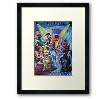 Simply Bushed Rock Joe Maguires Framed Print