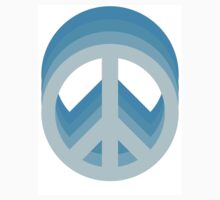 Peace (Blue) by CrispyOvenMan