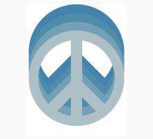 Peace (Blue) by CrispyOvenMan