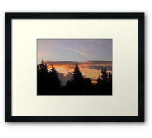 Today I woke up to a beautiful day 3 Framed Print