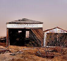 Oil Field GraveYard  by Carla Jensen