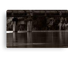 Mid North Coast Flood 2012 HDR Canvas Print