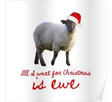 All I Want for Christmas is Ewe Poster