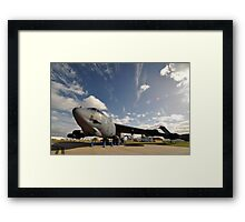 "B52 ""The Last Laugh"",Avalon Airshow,Australia 2015 Framed Print"