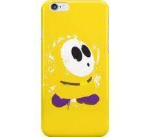 Splattery Shy Guy Style 3 iPhone Case/Skin