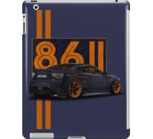 toyota gt 86 passion iPad Case/Skin