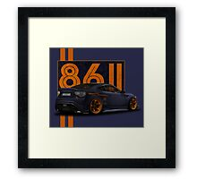 toyota gt 86 passion Framed Print