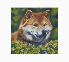 Shiba Inu Fine Art Painting Unisex T-Shirt
