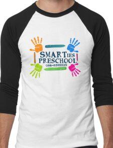 SMARTies Preschool - Option 2 Men's Baseball ¾ T-Shirt