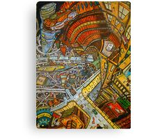 Looking down from the 3000 block Canvas Print