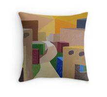 Adobe #42 Throw Pillow