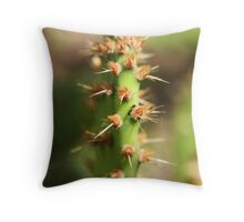 Prickly Position Throw Pillow