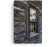 A Window in the Fort Canvas Print