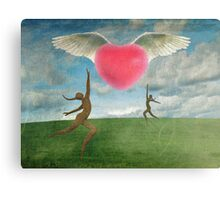 Love Is In The Air Part 2 Canvas Print