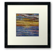 Parfait Sunset Framed Print