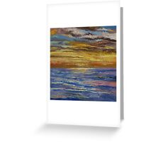 Parfait Sunset Greeting Card