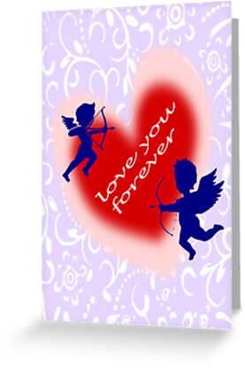 Cupid Card (375 Views) by aldona