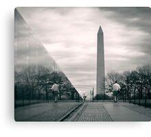 Vietnam War Veterans Memorial, Washington D.C. Canvas Print