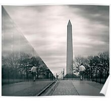 Vietnam War Veterans Memorial, Washington D.C. Poster