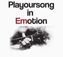 Playoursong in Emotion by appothena