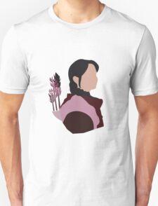 Katniss in Purple T-Shirt