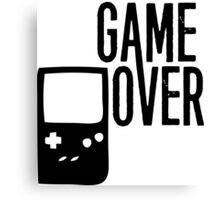 Game Over! Canvas Print