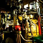 Puffing Billy Footplate by Colin  Ewington