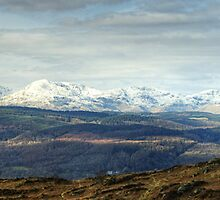 Views West From Rusland Heights  by Jamie  Green