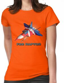F22 RAPTOR Womens Fitted T-Shirt