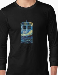 """Vincent and the Doctor"" Long Sleeve T-Shirt"