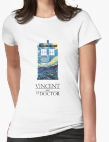"""Vincent and the Doctor"" Womens Fitted T-Shirt"