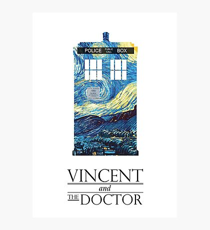 """Vincent and the Doctor"" Photographic Print"