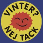 Vinter? Nej tack. Badgelogga by Teaflax